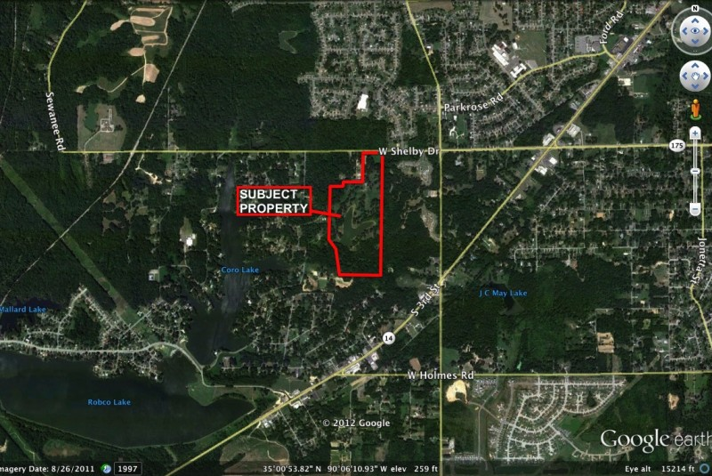 Acreage Available – West Shelby Drive