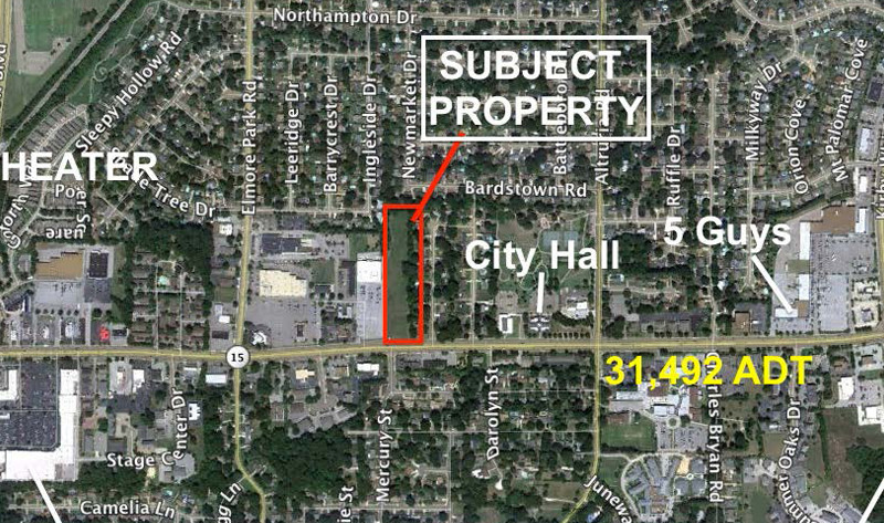Prime Retail Land Available – Bartlett, TN